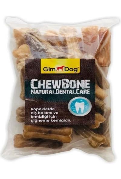 Gimdog Mordimi Ağız ve Diş Sağlığı Için Naturel Köpek Çiğneme Kemiği 25'li 200 gr