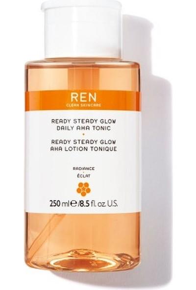 Ren Ready Steady Glow,tonik Cildinizi Temizleyip Aydınlatır 250 ml