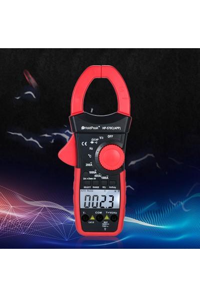 Holdpeak Dijital Kelepçe Multimetre Otomatik Aralığı (Yurt Dışından)