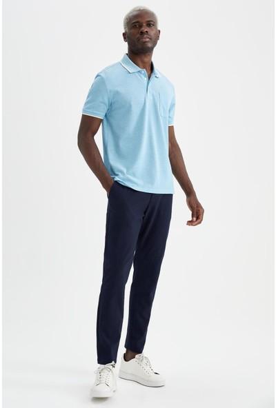 DeFacto Regular Fit Polo Yaka Kısa Kollu Tişört