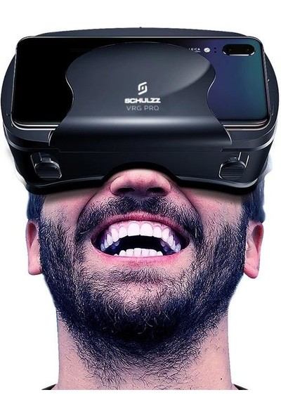 Schulzz Vrg Pro 5-7 Inç Akıllı Telefon 3D Vr Sanal Gerçeklik Gözlüğü