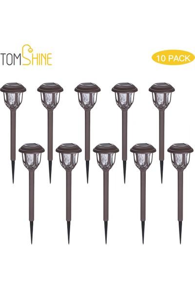 Tomshine 10'lu Paket Güneş Enerjili Çim Lambaları (Yurt Dışından)