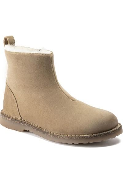 Birkenstock Melrose Shearling Leve Bayan Ayakkabı