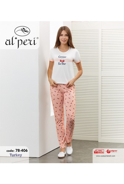 Alperi Kısa Kol Pijama Takımı