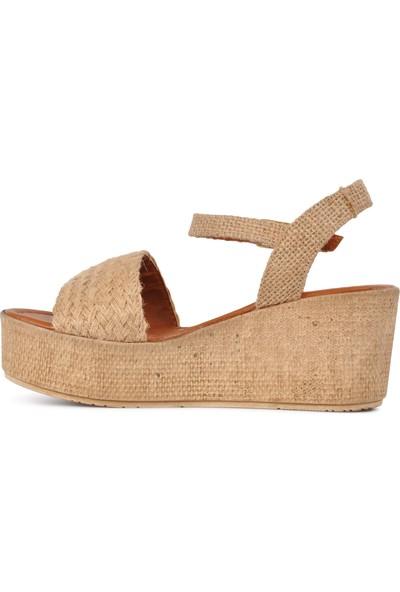 Park Fancy 705 Hasır Kadın Sandalet