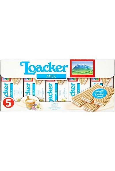 Loacker Sütlü Gofret 5x 45 gr