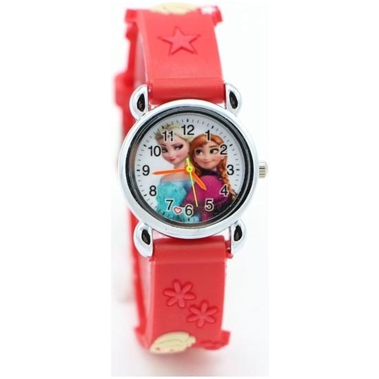 Frozan Kız Çocuk Kol Saati Karlar Ülkesil Saati