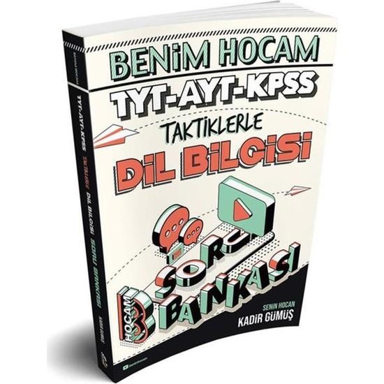 Benim Hocam Yayınları TYT 2022 - AYT - KPSS Taktiklerle Dil Bilgisi Soru Bankası