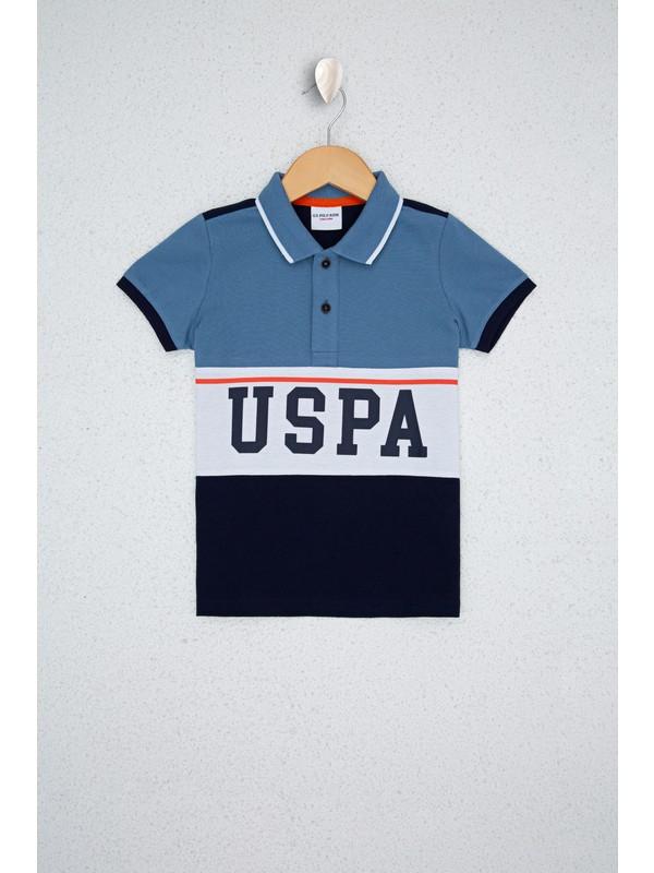 U.S. Polo Assn. Mavi Çocuk T-Shirt 50238504-VR028