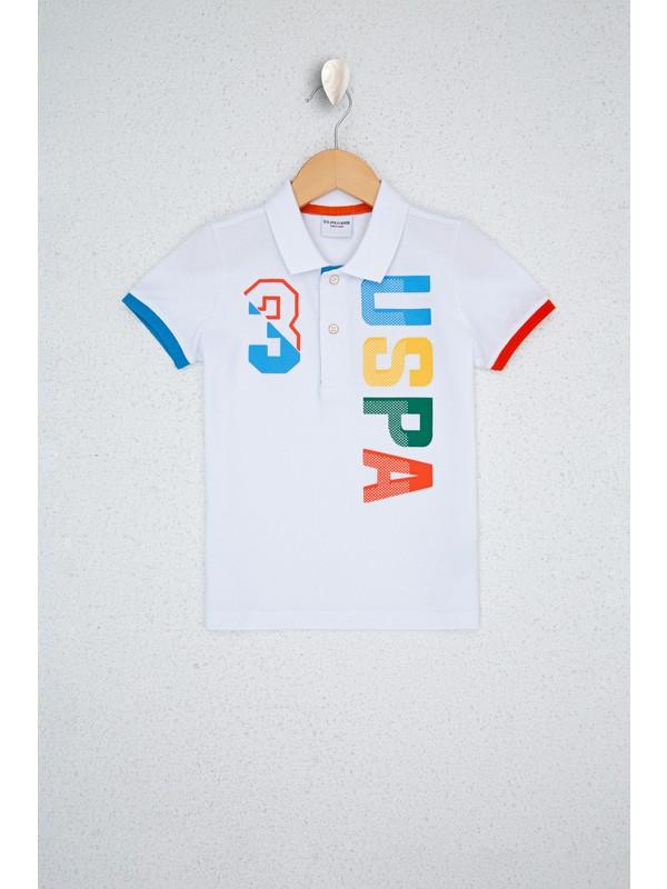 U.S. Polo Assn. Beyaz T Shirt 50232555-VR013
