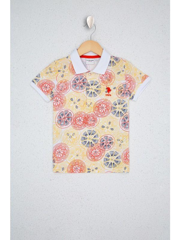 U.S. Polo Assn. Beyaz T-Shirt 50218997-VR013