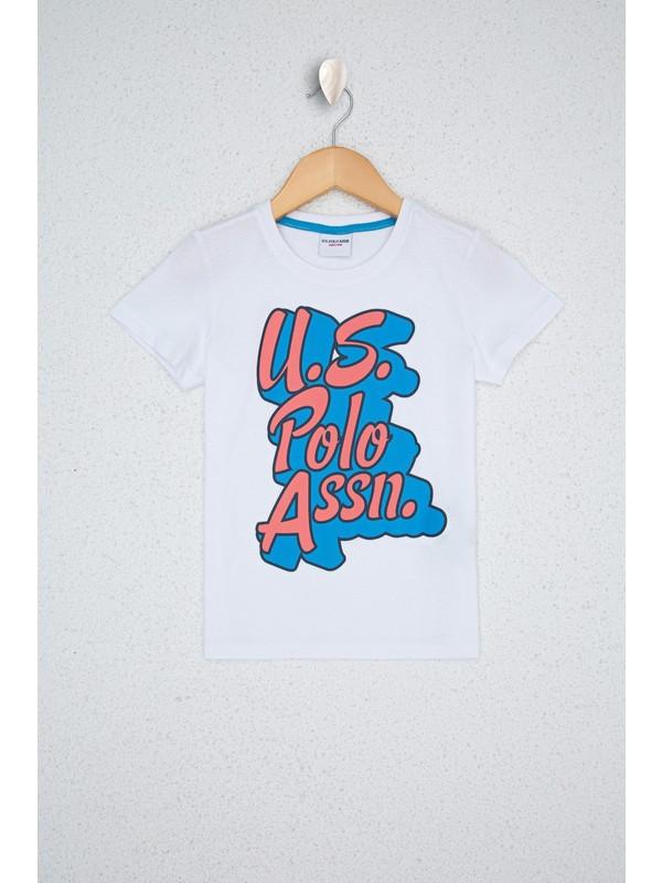 U.S. Polo Assn. Beyaz T-Shirt 50238391-VR013