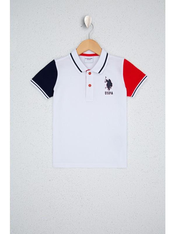 U.S. Polo Assn. Beyaz T-Shirt 50238449-VR013
