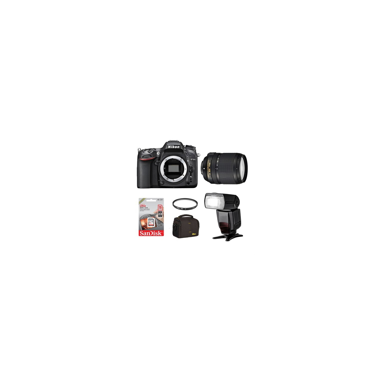 33754235ae79d Nikon D7100 + 18-140 Dx Vr + Ttl Flash + Hafıza Kartı + Çanta
