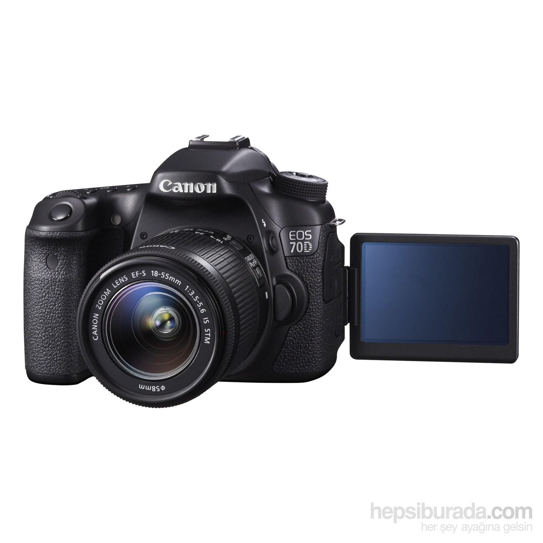 Canon Eos 70D 18-55 IS STM Kit DSLR Fotoğraf Makinesi Fiyatı
