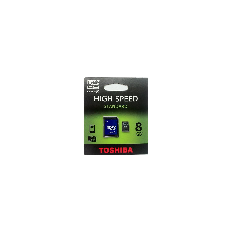 Toshiba 8 GB Class 4 Micro SDHC Hafıza Kartı + Adaptor Fiyatı