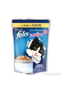 Felix Chicken Cat Food Pouch for Kittens 100 gr