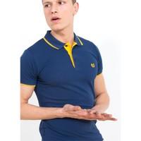 Adze İndigo Erkek Polo Yaka Tişört