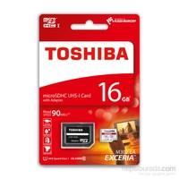 Toshıba 16Gb 90Mb/Sn Microsdhc™Uhs-1 C10 Excerıa Thn-M302r0160ea