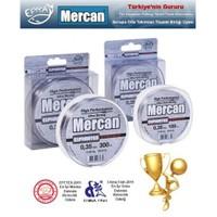 Mercan Euphrates Dynamic Fluoracarbon Coated Gümüş Gri Misina - 500Mt Makara