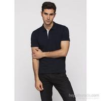 Adze Erkek Lacivert Polo Yaka T-Shirt