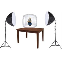 Fancier Ürün Çekimi İçin Sürekli Işık 2 Li Set Octagon