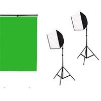 Fancier Video Çekimi İçin Mini Sürekli Işık 2 Li Set 60X60