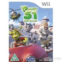 Sega Wii Planet 51 The Game