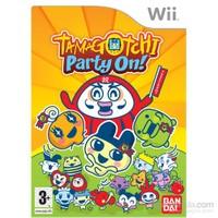 Nintendo Wii Tamagotchı Party On !
