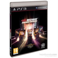 Warnerbros Ps3 Mıdway Arcade Orıgıns