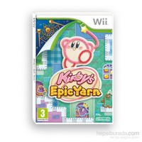 Nintendo Wii Kırbys Epıc Yarn