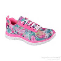 Skechers Flex Appeal Floral Bloom Bayan Spor Ayakkabı 12061-Pkmt