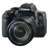 Canon Eos 750D + 18-135 Is Stm + Çanta + 16 Gb Hafıza Kartı