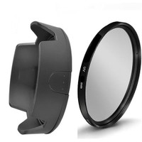 Beta Nikon 18-55Mm Lens İçin Uv Filtre + Hb-45 Iı Parasoley