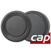 Canon Dslr Ler İçin Body Ön Ve Lens Arka Kapağı Seti