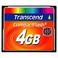 Transcend 4GB (133X) Ultra Speed CF Hafıza Kartı TS4GCF133