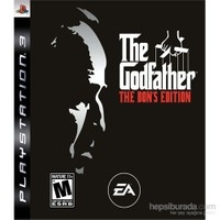 He Godfather Ps3 Oyunu