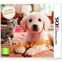 Nintendo 3Ds Nıntendogs Golden Retrıever + Cats
