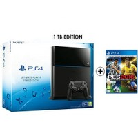 Sony Playstation 4 Ultimate 1Tb Oyun Konsolu + Pes 2016 Ps4 Oyun