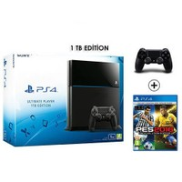 Sony Playstation 4 Ultimate 1Tb Oyun Konsolu + Pes 2016 + 2. Kol