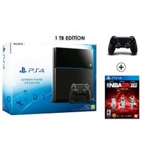 Sony Playstation 4 Ultimate 1Tb Oyun Konsolu + Nba 2K16 + 2. Kol