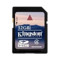 Kingston 32 GB SDHC CLASS4 Secure Digital Card SD4/32GB Hafıza Kartı