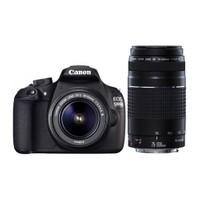 Canon Eos 1200D 18-55mm DC + 75-300mm III USM Lens (Canon Eurasia Garantili)