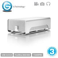 "G-Technology G-RAID 4TB 3.5"" 2 Diskli USB3.0 FireWire Depolama Ünitesi Mac Uyumlu"