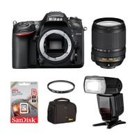 Nikon D7200 + 18-140 Dx Vr + Ttl Flash + Hafıza Kartı + Çanta + Uv Filtre