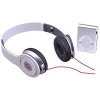 Powerway DRN-X08 4GB Mp3 Çalar + Powerdreams Kulaküstü Kulaklık - Gri&Beyaz