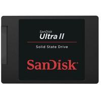 Sandisk Ultra II 240GB 550MB-500MB/s Sata 3 SSD (SDSSDHII-240G-G25)