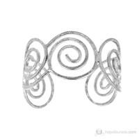 Lochers İnce Desenli Metal Bileklik