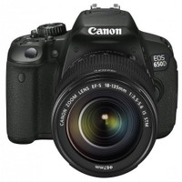 "Canon EOS 650D 18-135MM IS STM 18MP 3.0"" LCD SLR Fotoğraf Makinesi (Dokunmatik Ekran)"