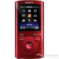 Sony Nwz-E384 Walkman 8Gb   Kırmızı